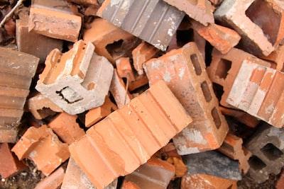 brown concrete bricks brick zoom background