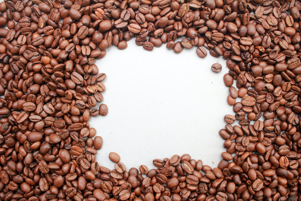 pile of coffee beans