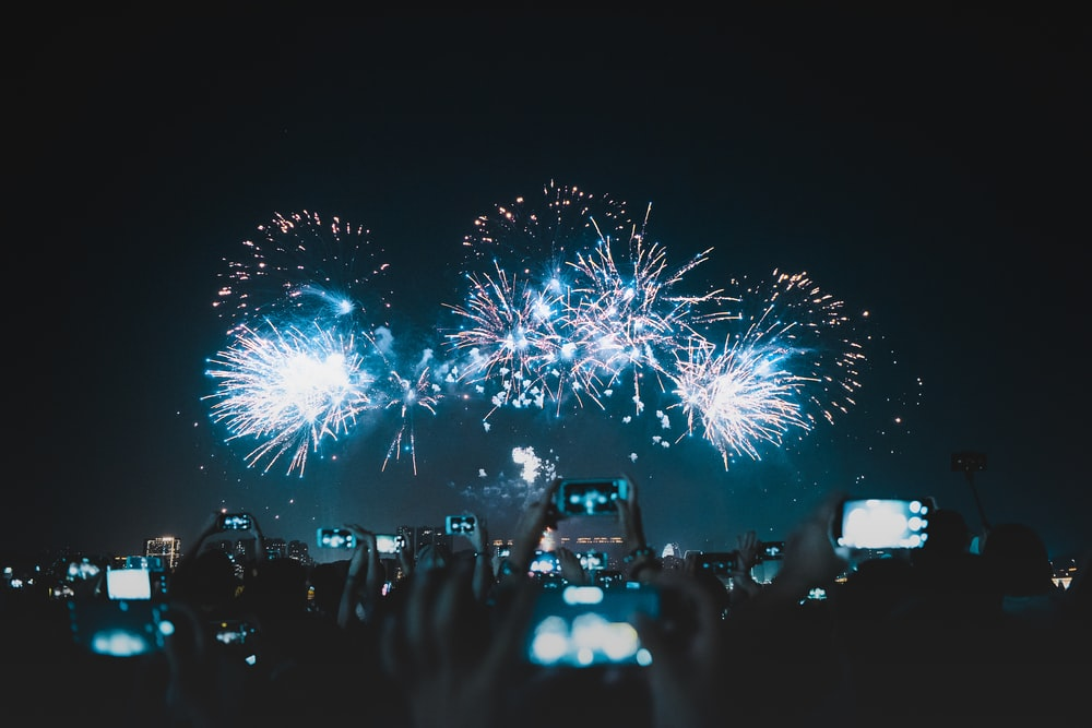 firework display photograph