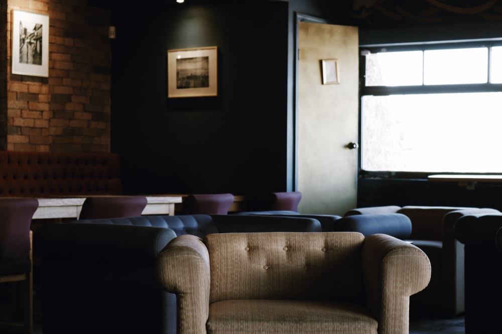 sofa chairs inside room