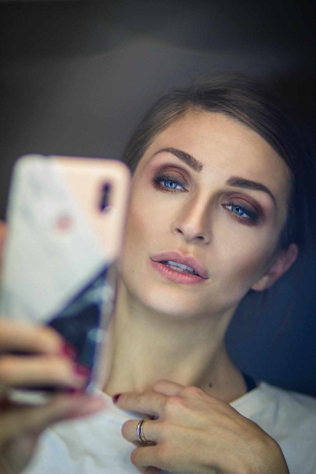 Beauty photoshoot makeup