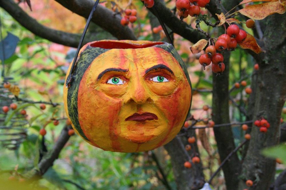 Jack Oh Lantern on tree