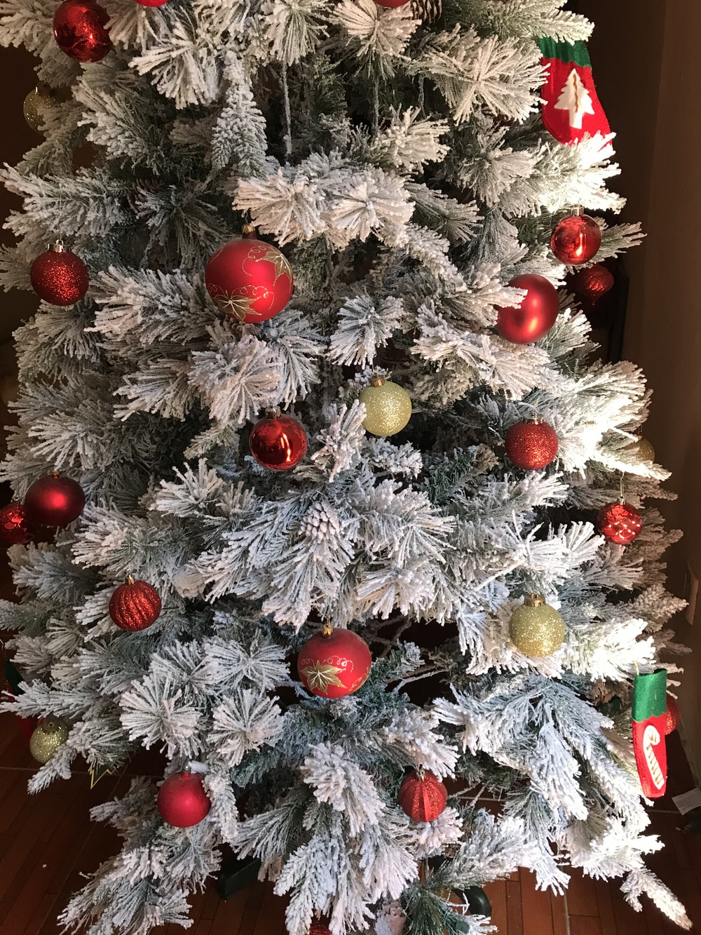 Christmas tree with baubles