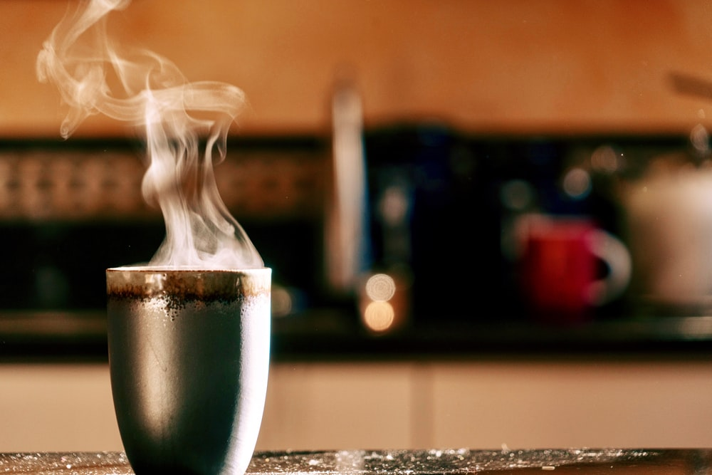 hot beverage in cup