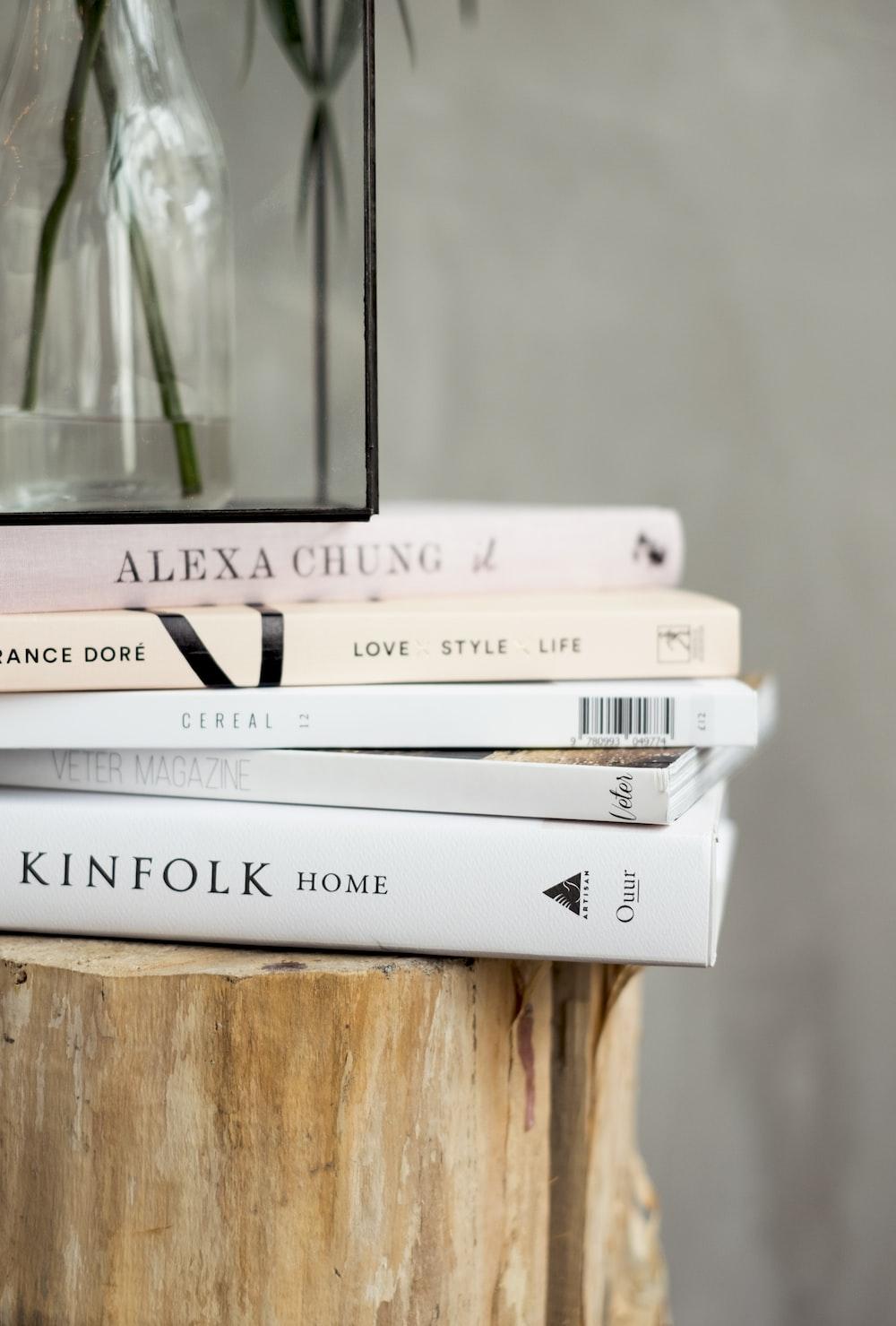 assorted five books