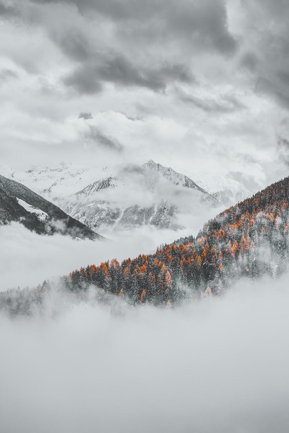 mountain at daytime