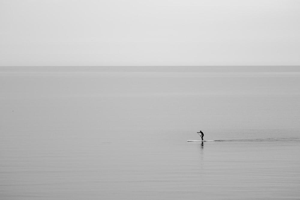 man on ocean