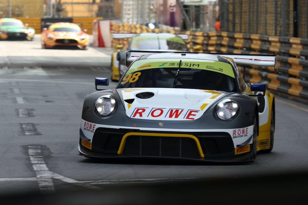Earl Bamber New Zealand FIA World GT Cup Macau 2019 Porsche 911 GT3R ROWE Racing