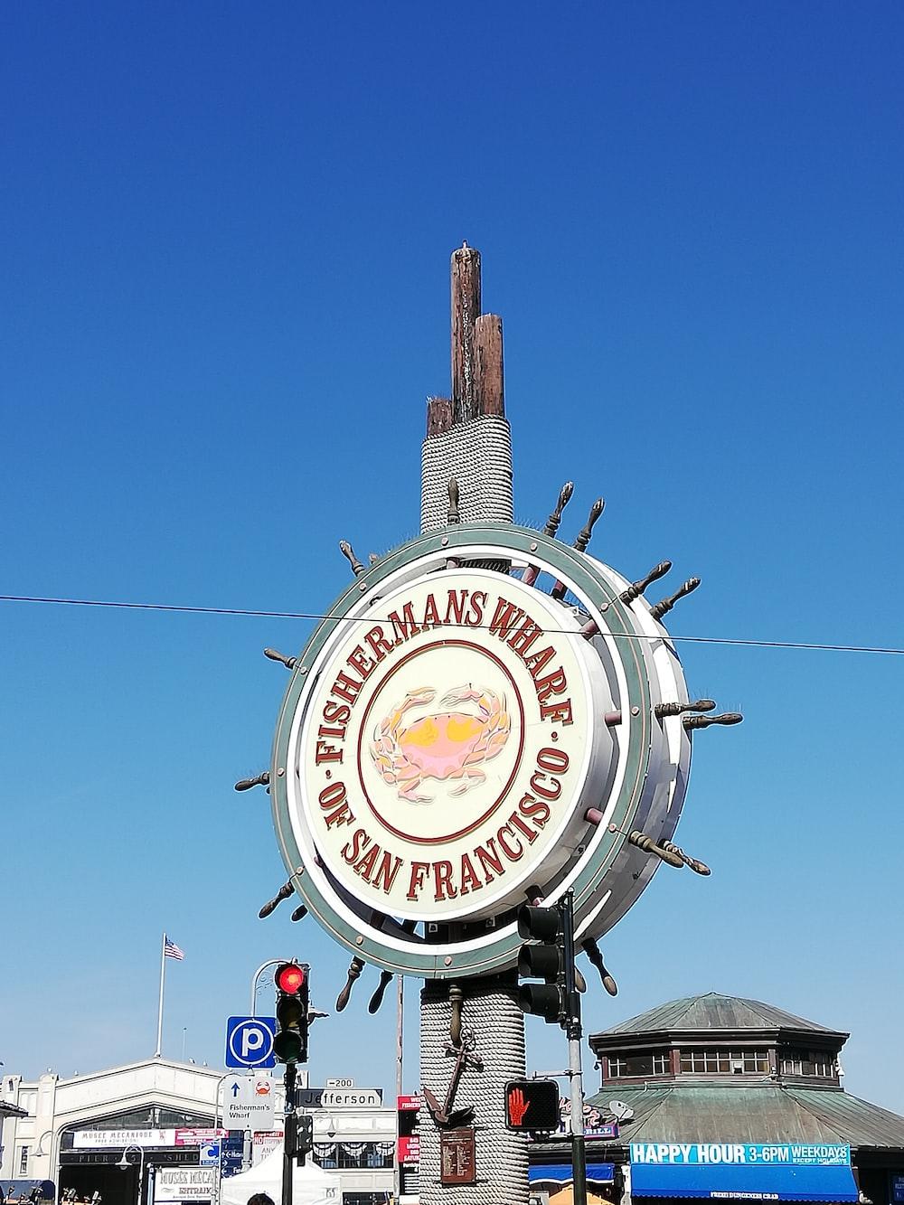 Fishermans Wharf signage