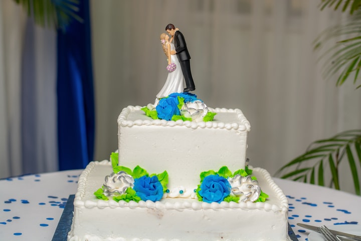 Wedding Day Chocolate Cake Prank