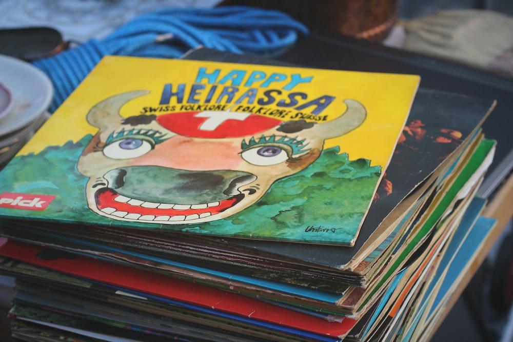 Happy Heirassa story book