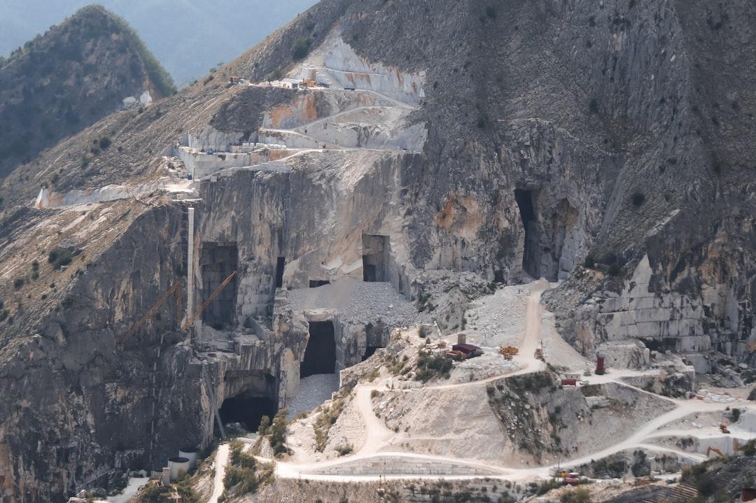 Carrara marble quarries. Carrara, Tuscany, Italy.