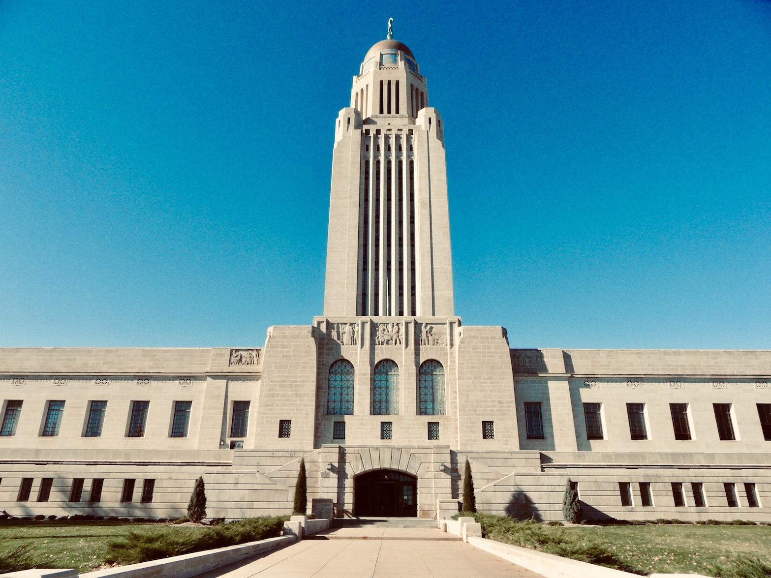 Lincoln, Nebraska state capitol building
