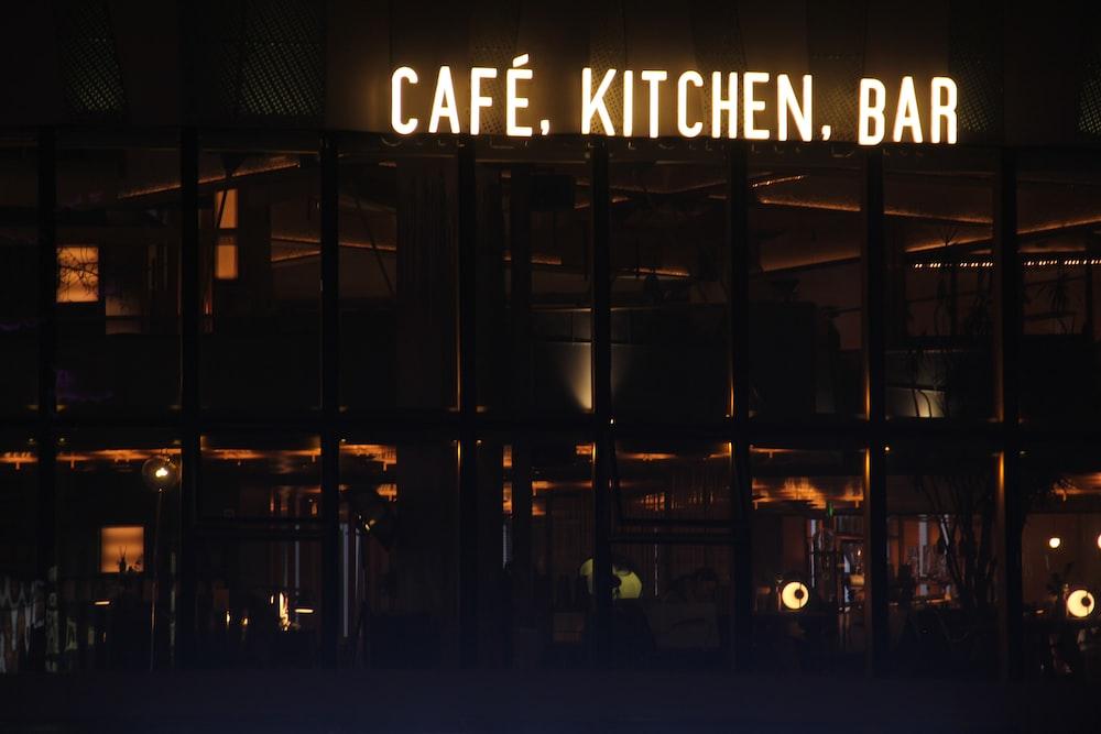 Cafe Kitchen Bar