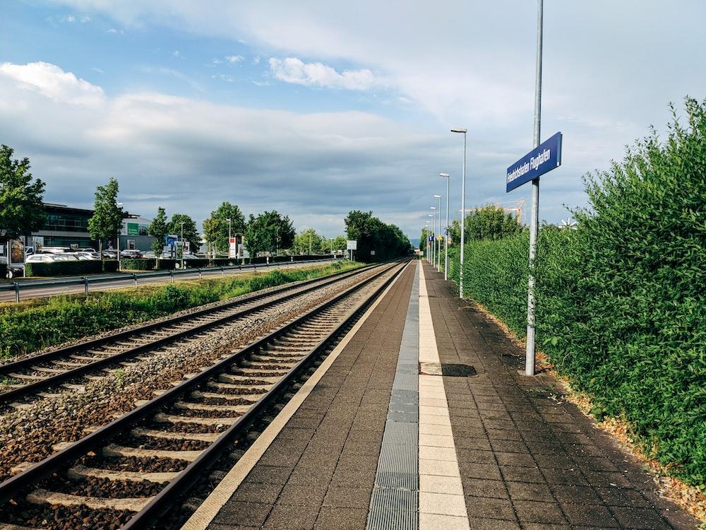 empty railway