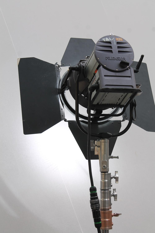 gray studio camera