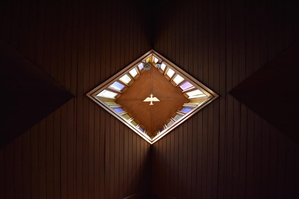 low angle photo of ceiling
