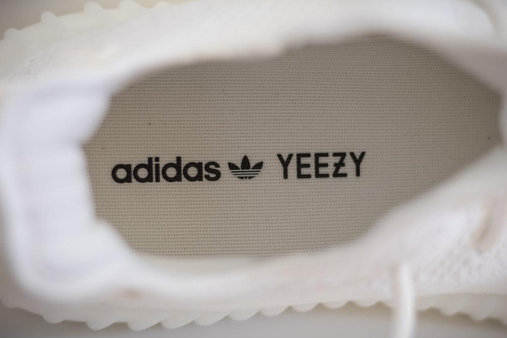 selective focus photo of adidas Yeezy shoe