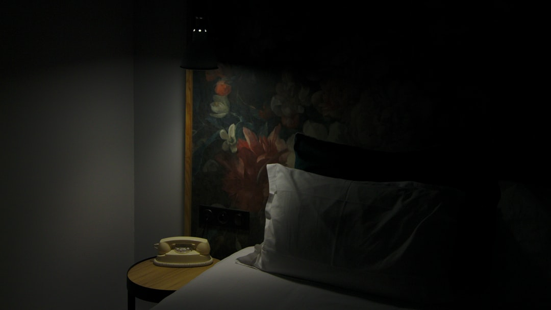 Hotel room like on an old poster.