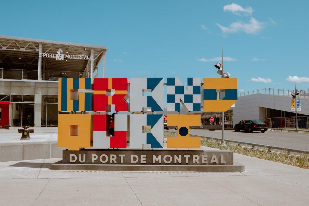 A sunny day at Du Port De Montreal