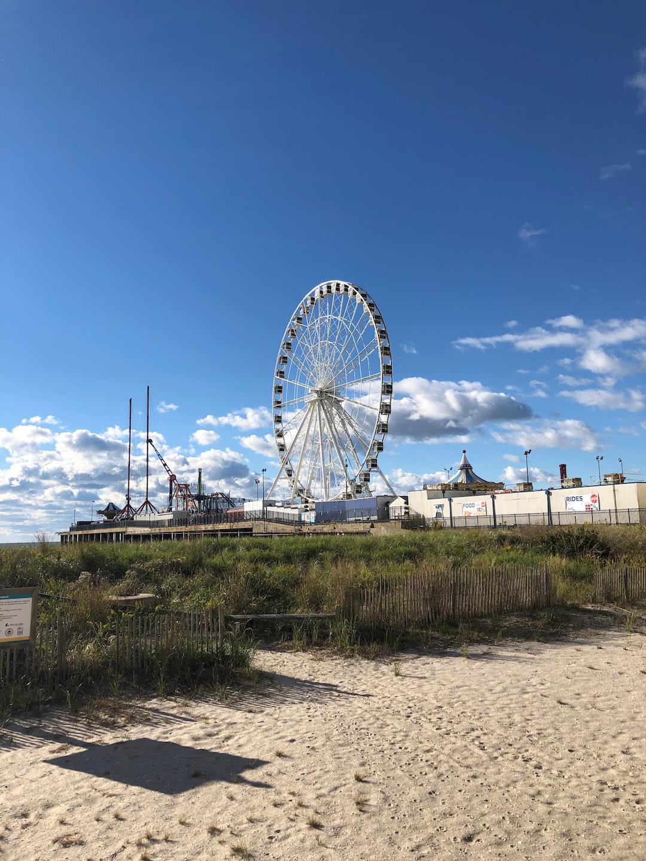 Atlantic City in the fall.