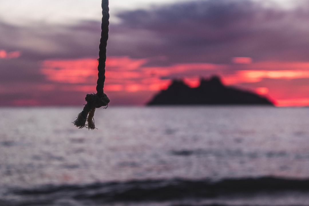 Rope by the sea