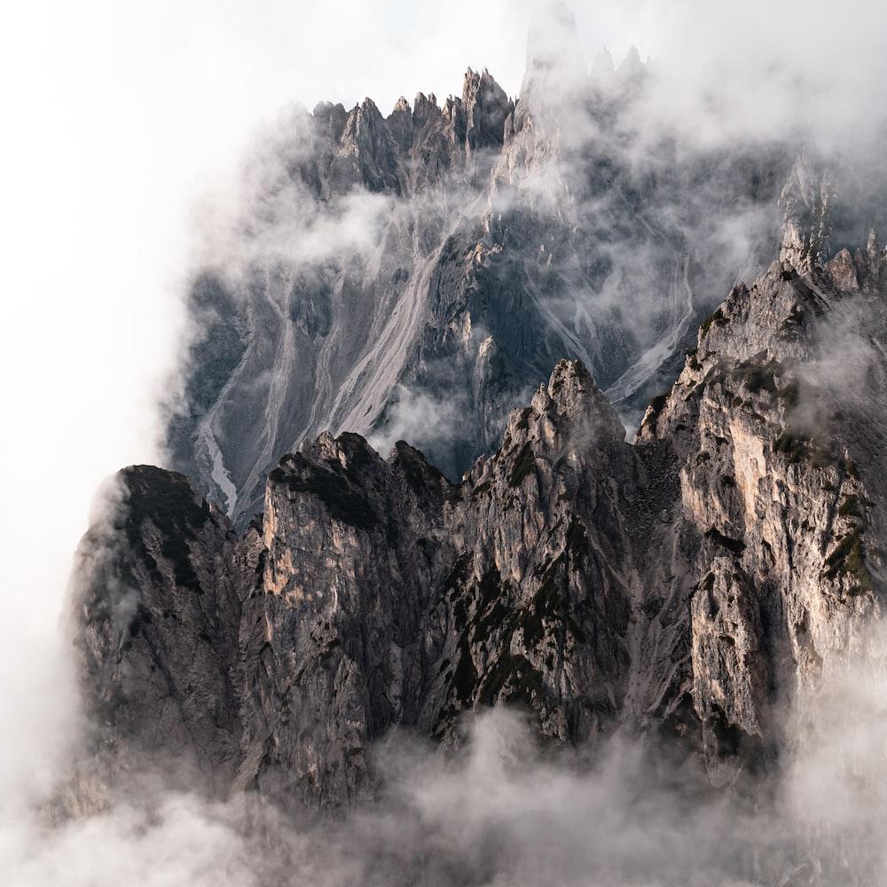 borwn mountain