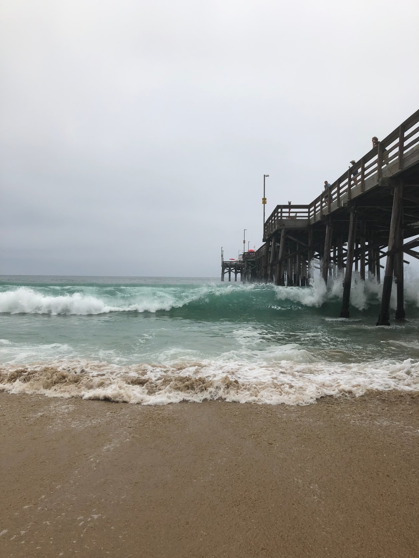 Crashing Pier