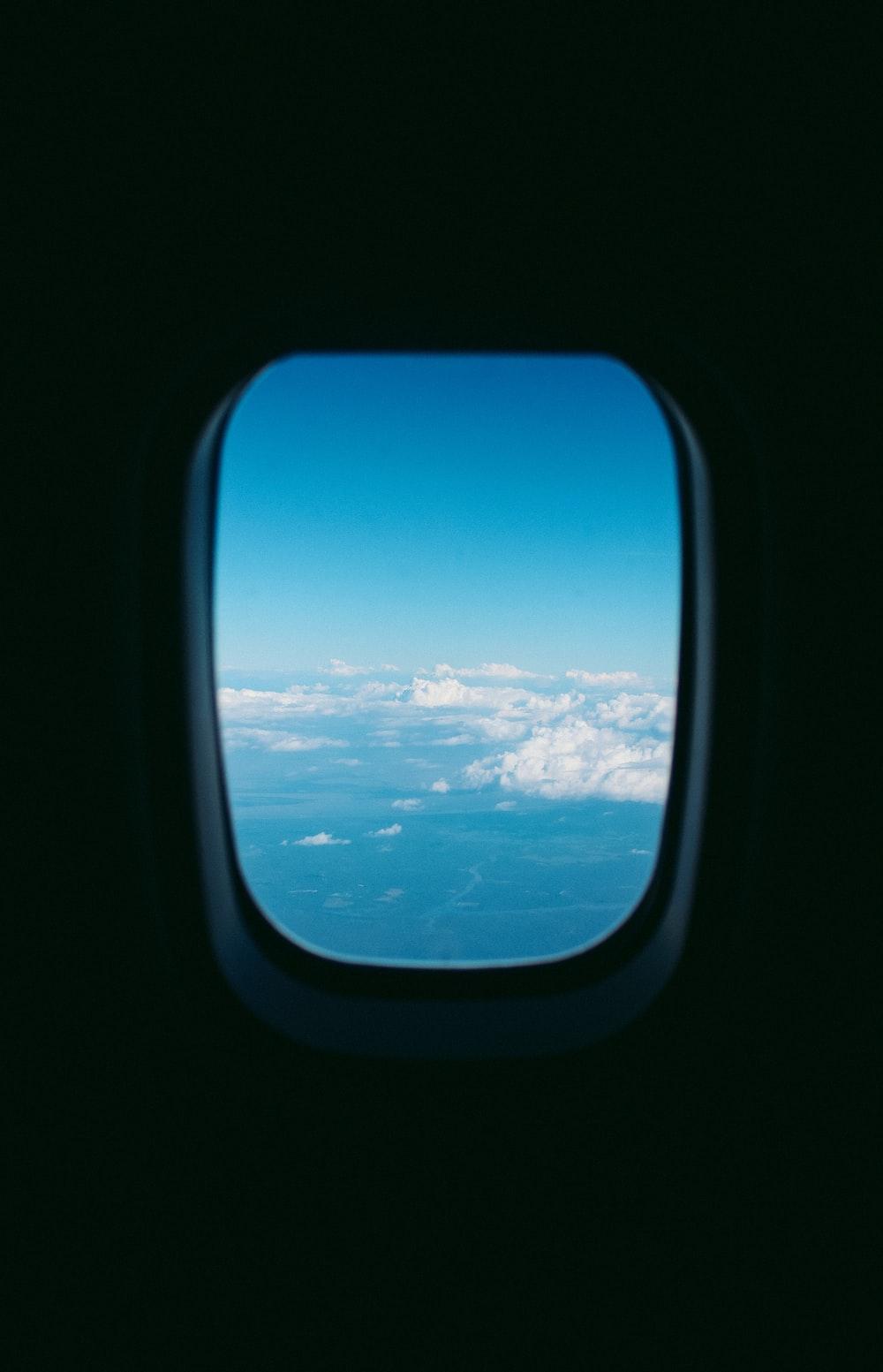 plane window photograph