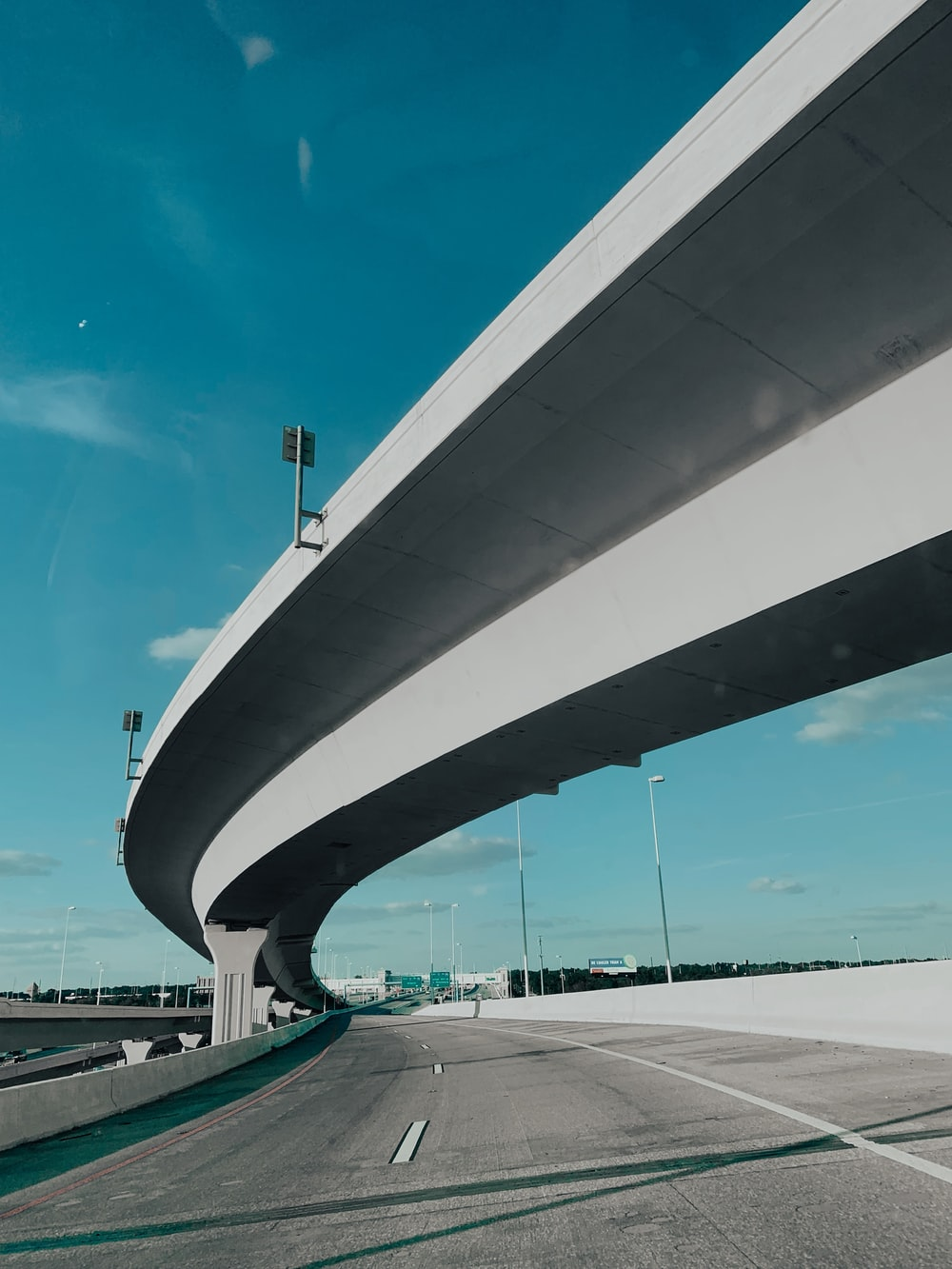 gray highway during daytime