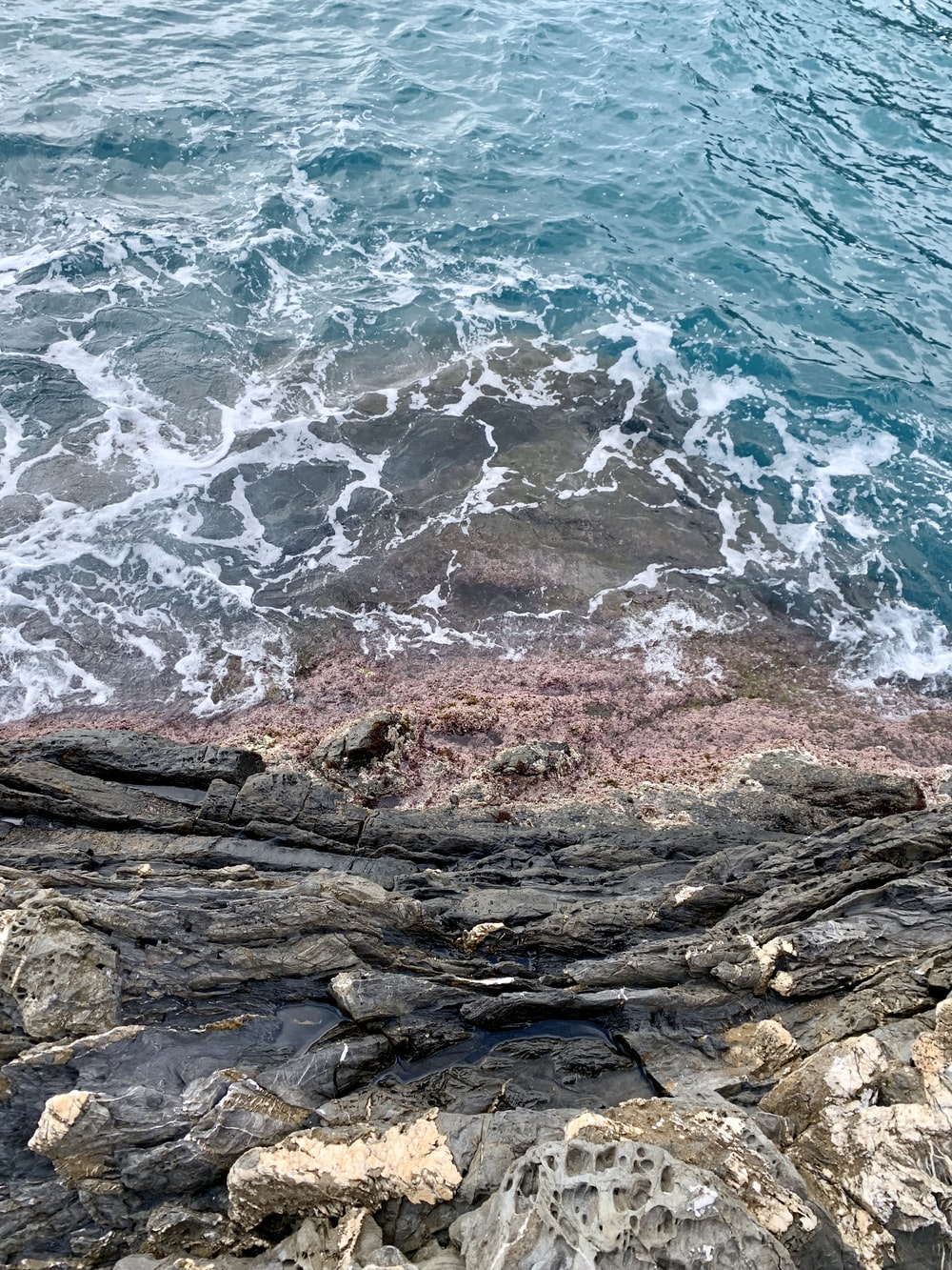 sea and rocks during daytime