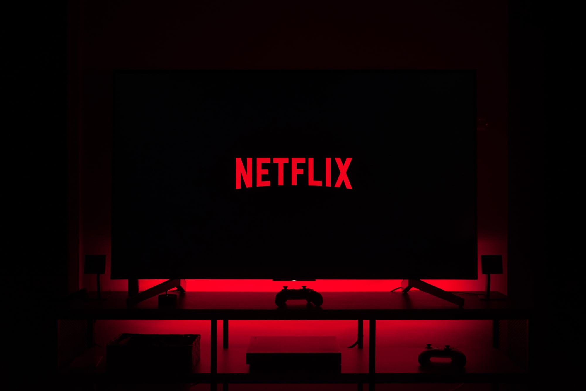 Dark Netflix and Chill from home