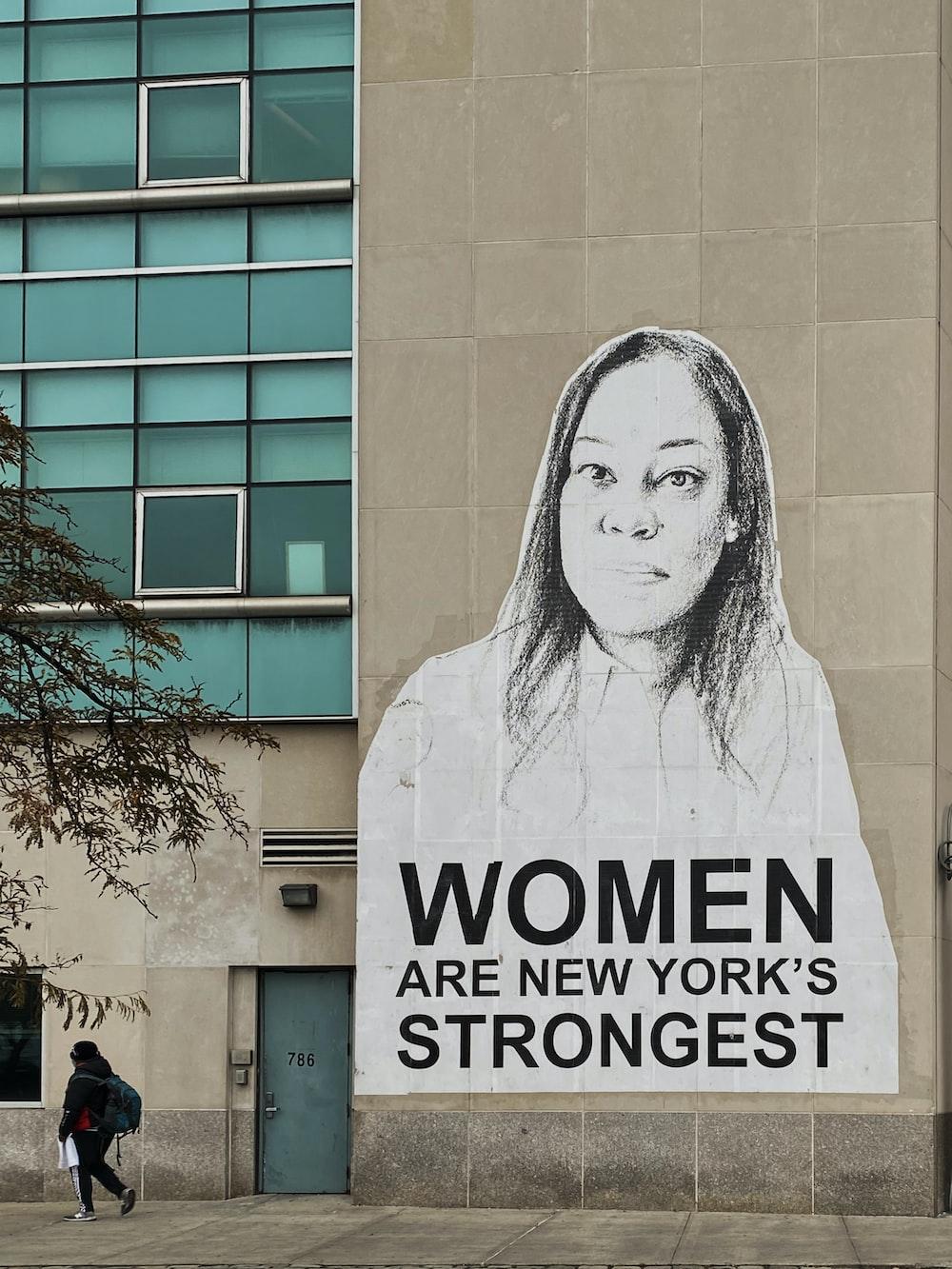 women are New York's strongest grafiti