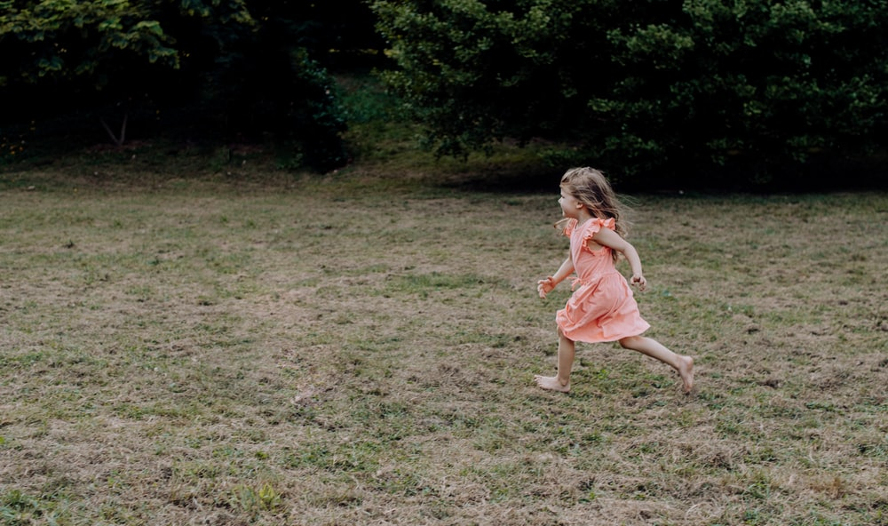 girl in sleeveless dress