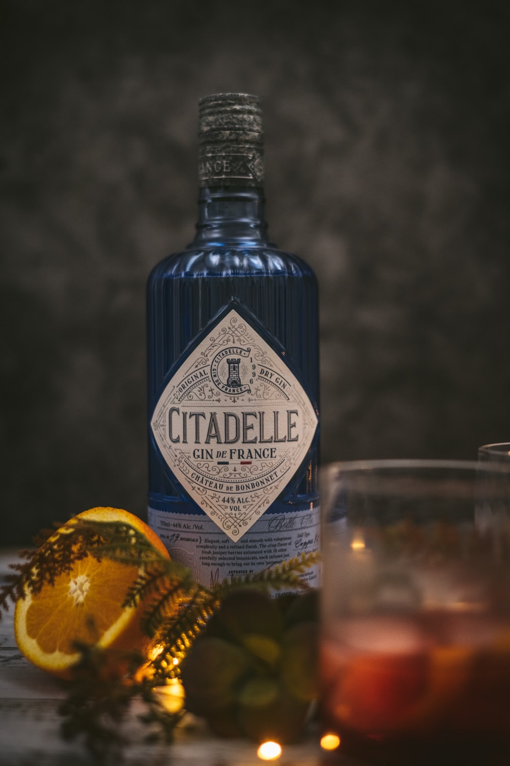 Citadelle glass bottle