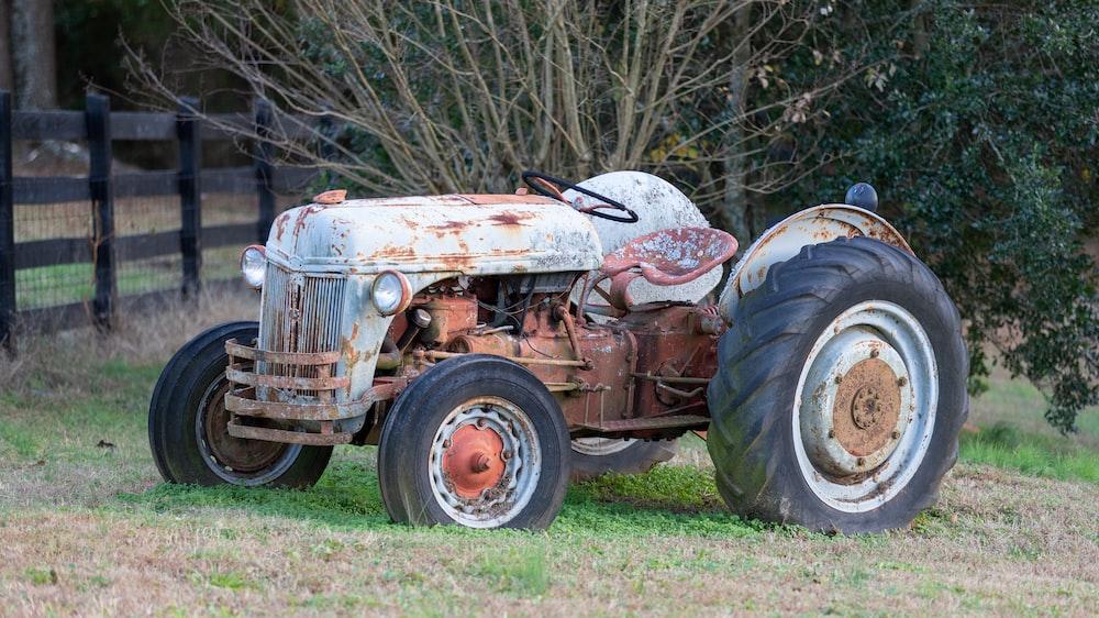 grey tractor