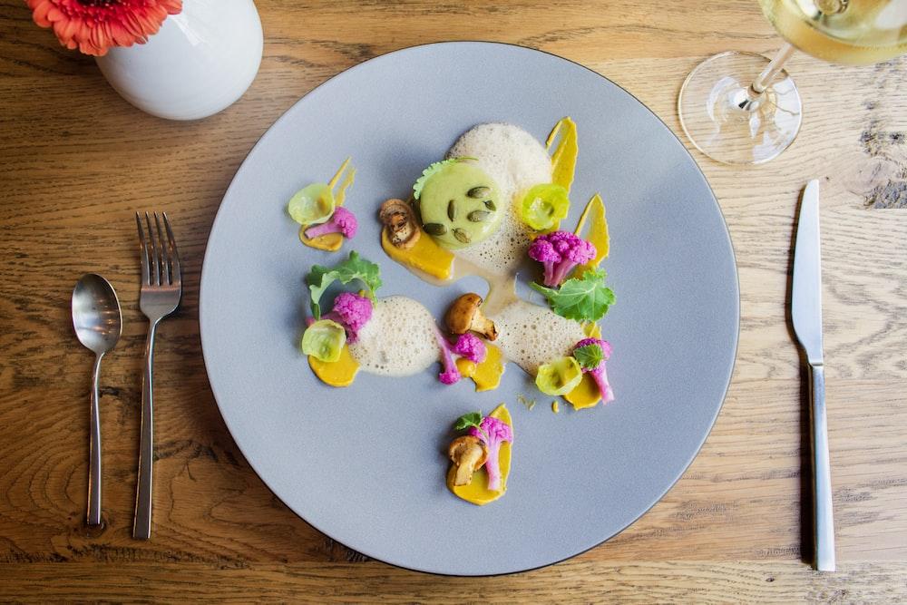 food of plate