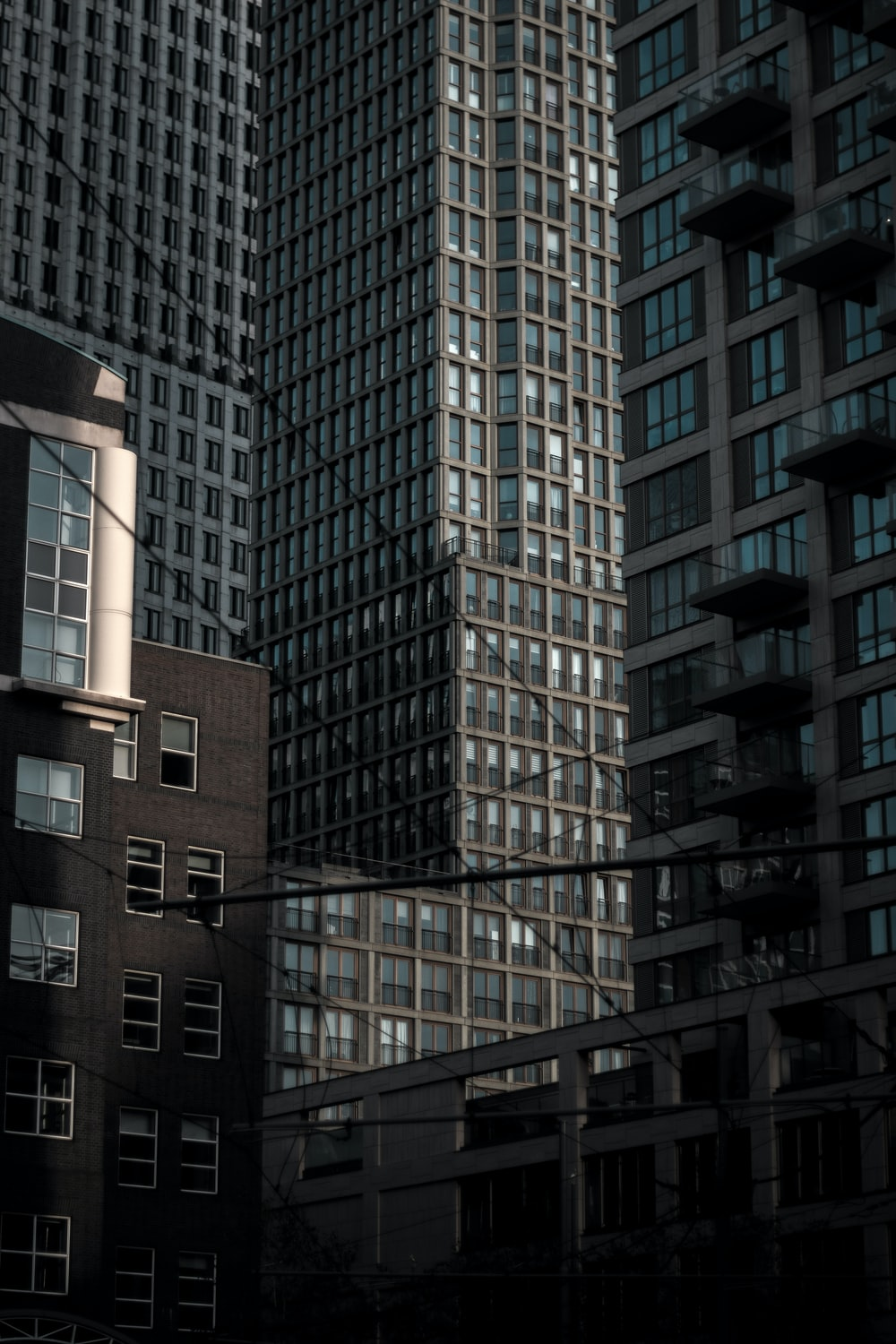 grey concrete buildings during daytime