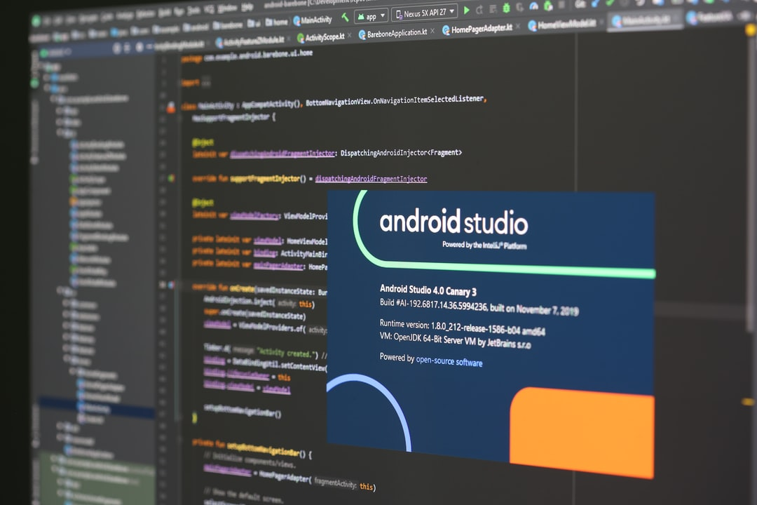 Android Studio - Mobile Development (Aperture ƒ/5.0)