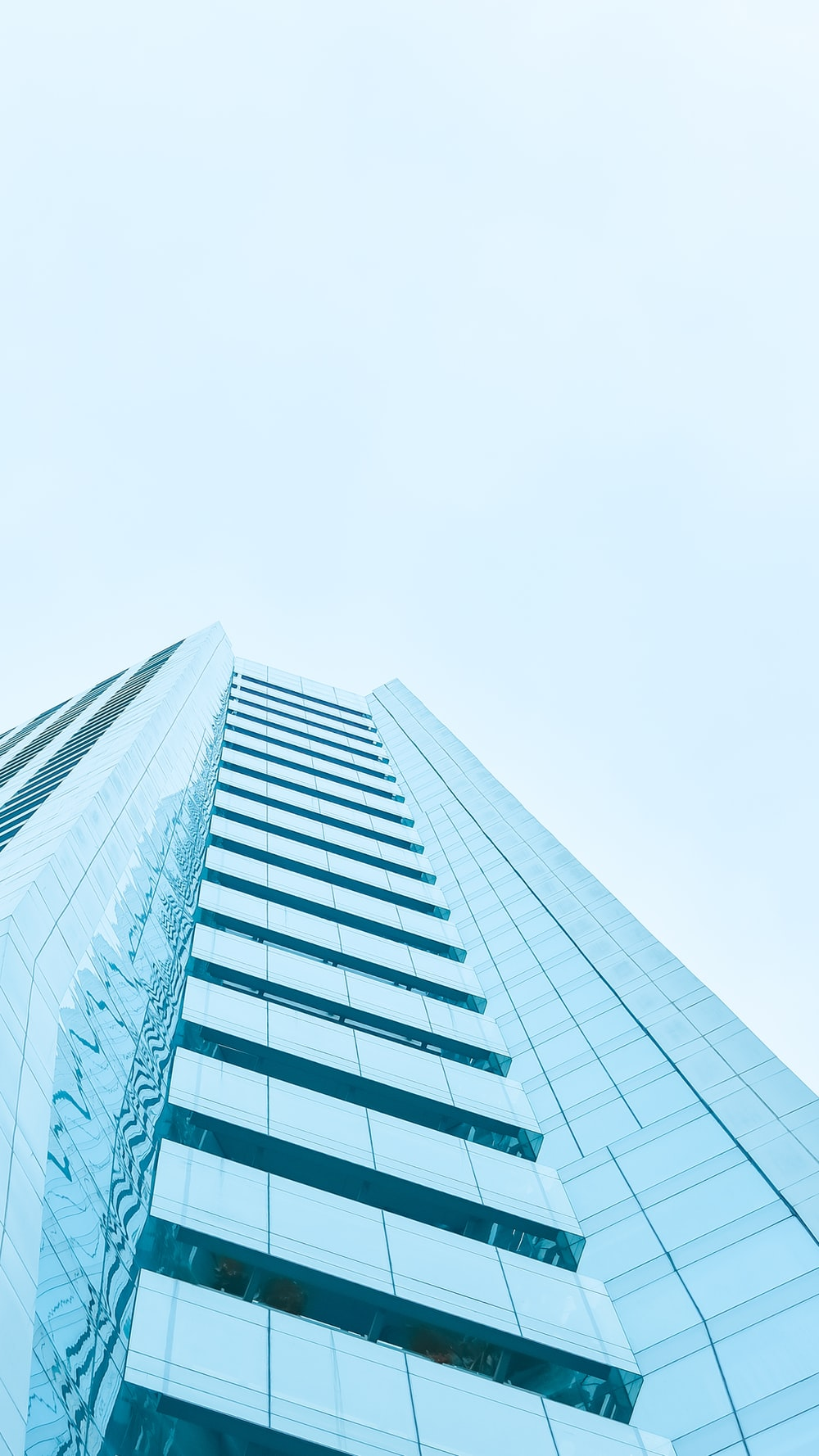 low angle view of high rise building