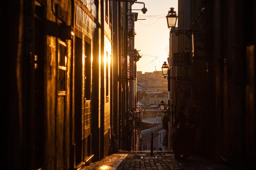building alley