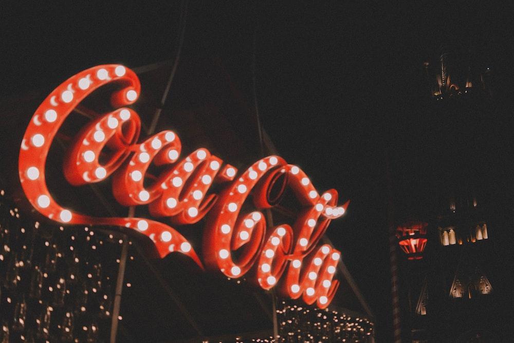 Coca-Cola LED light