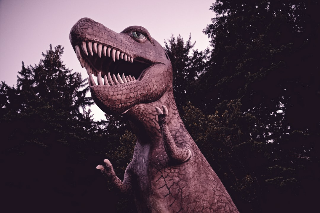 For the record, this T-Rex is not anatomically correct. Still, I wouldn't recommend getting too close.