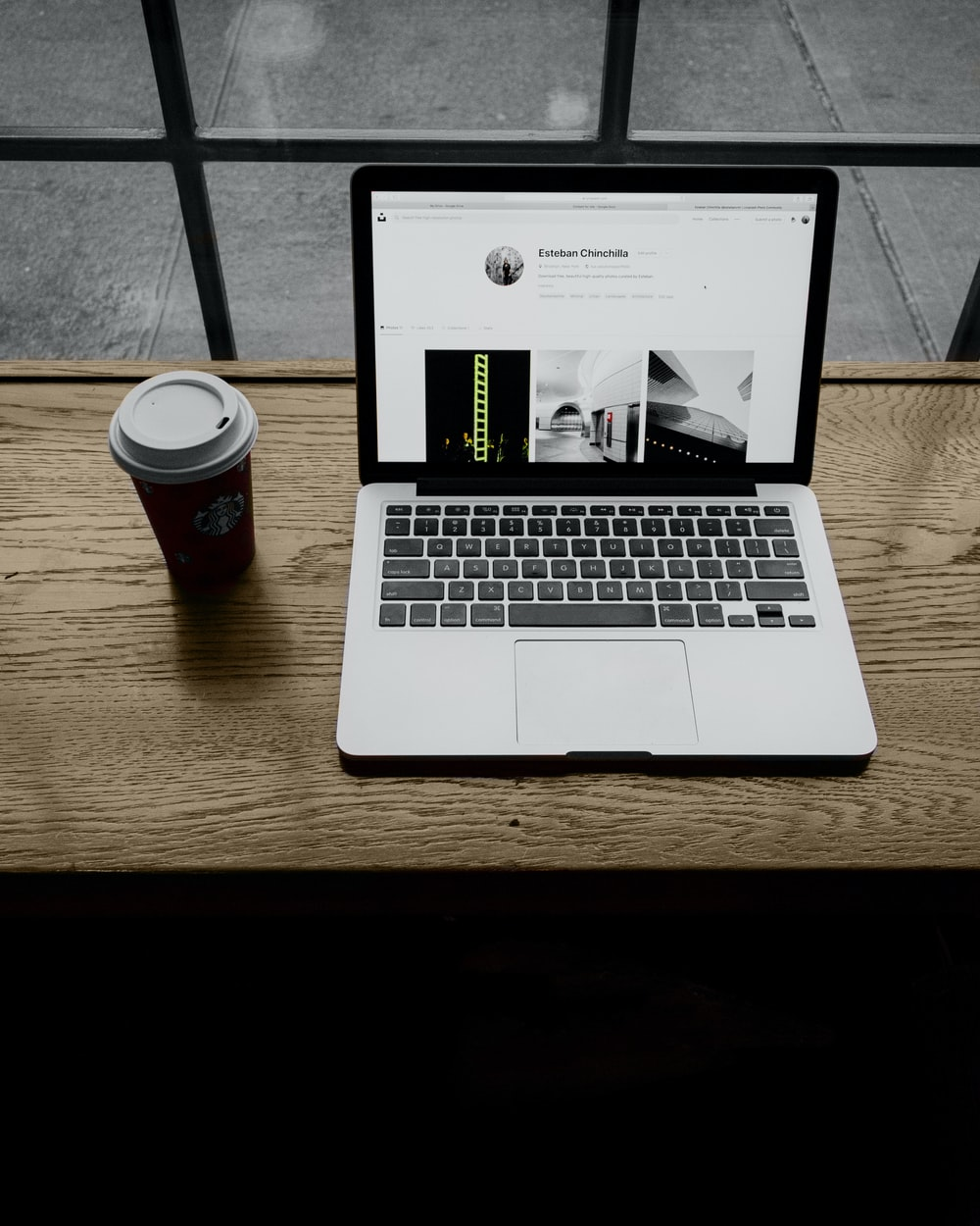 MacBook Pro on table