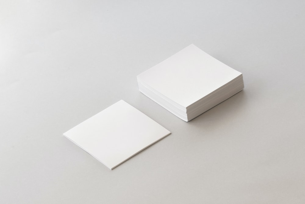 pile of white printing papers