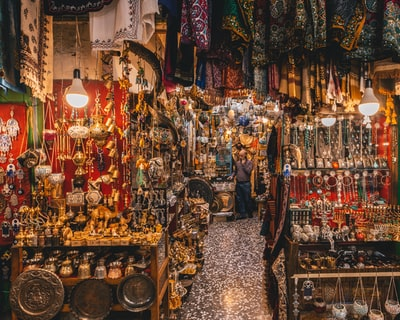 Shop in the Old City of Jerusalem