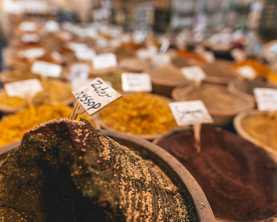 Spices shop in the Old City of Jerusalem