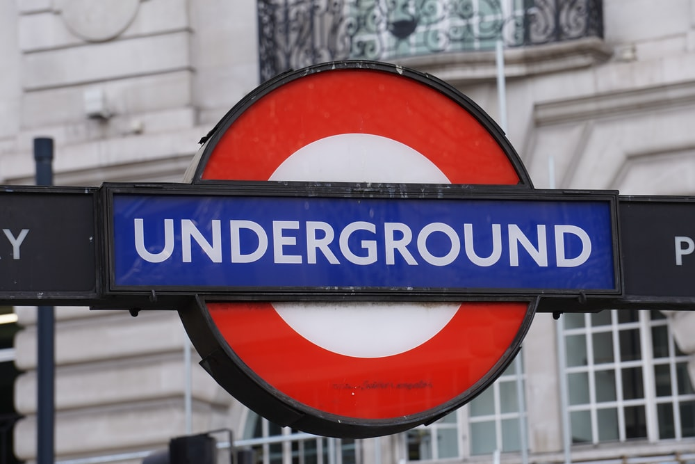 blue Underground signage