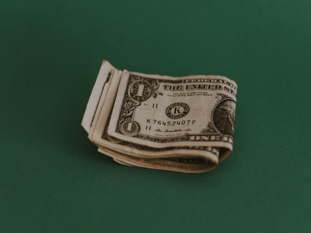 1 US dollar banknote