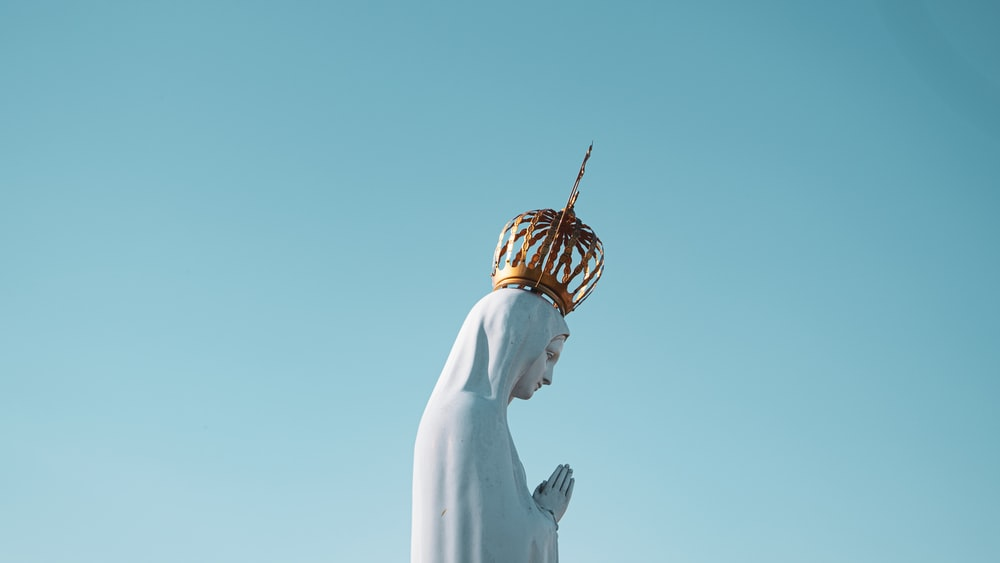 Mama Mary statue